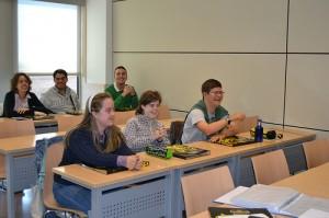 Estudiantes de la Fundacion Down en la Universidad de Comillas